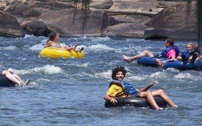 2017 South Carolina River Tubing