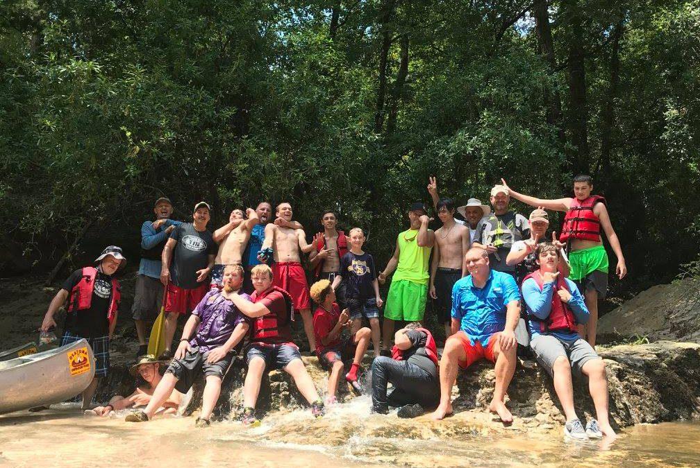 2017 Louisiana Okatoma Canoe Trip